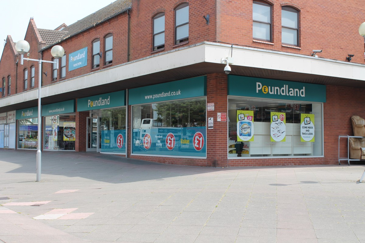 New Image for POUNDLAND INVESTS IN BRIERLEY HILL STORE