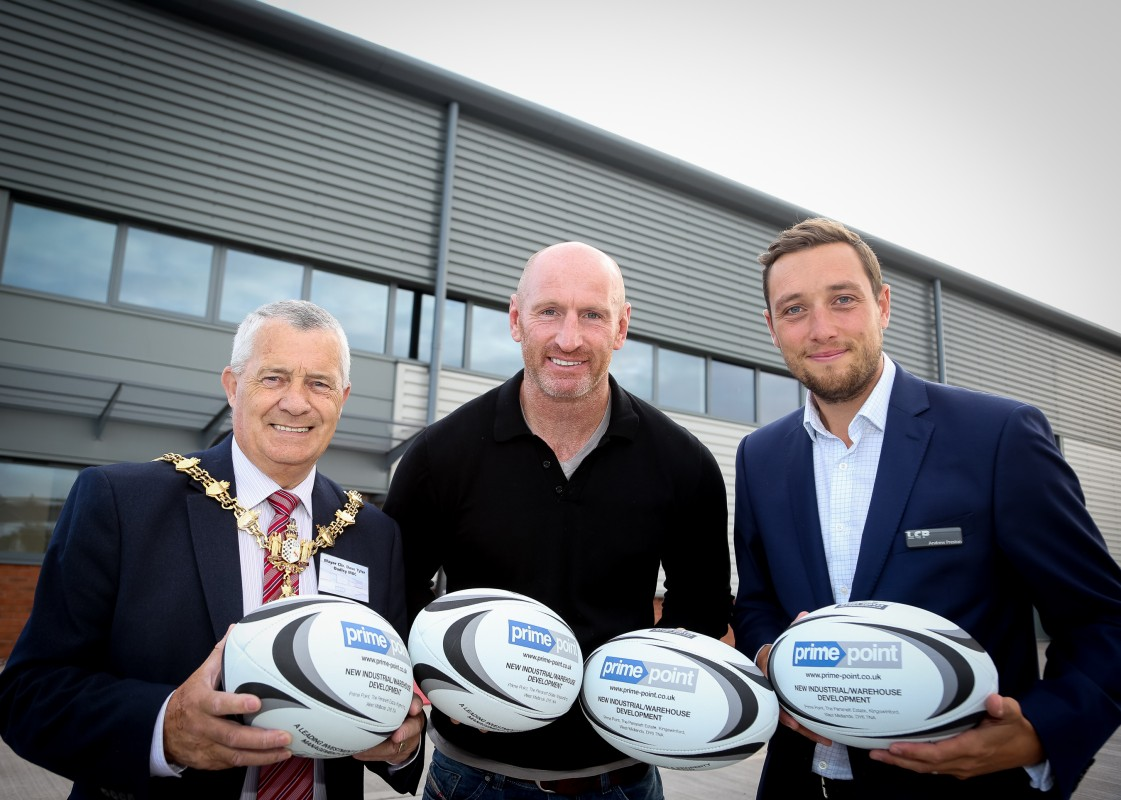 New Image for SCRUM TO MEET WALES RUGBY STAR AT PRIME POINT