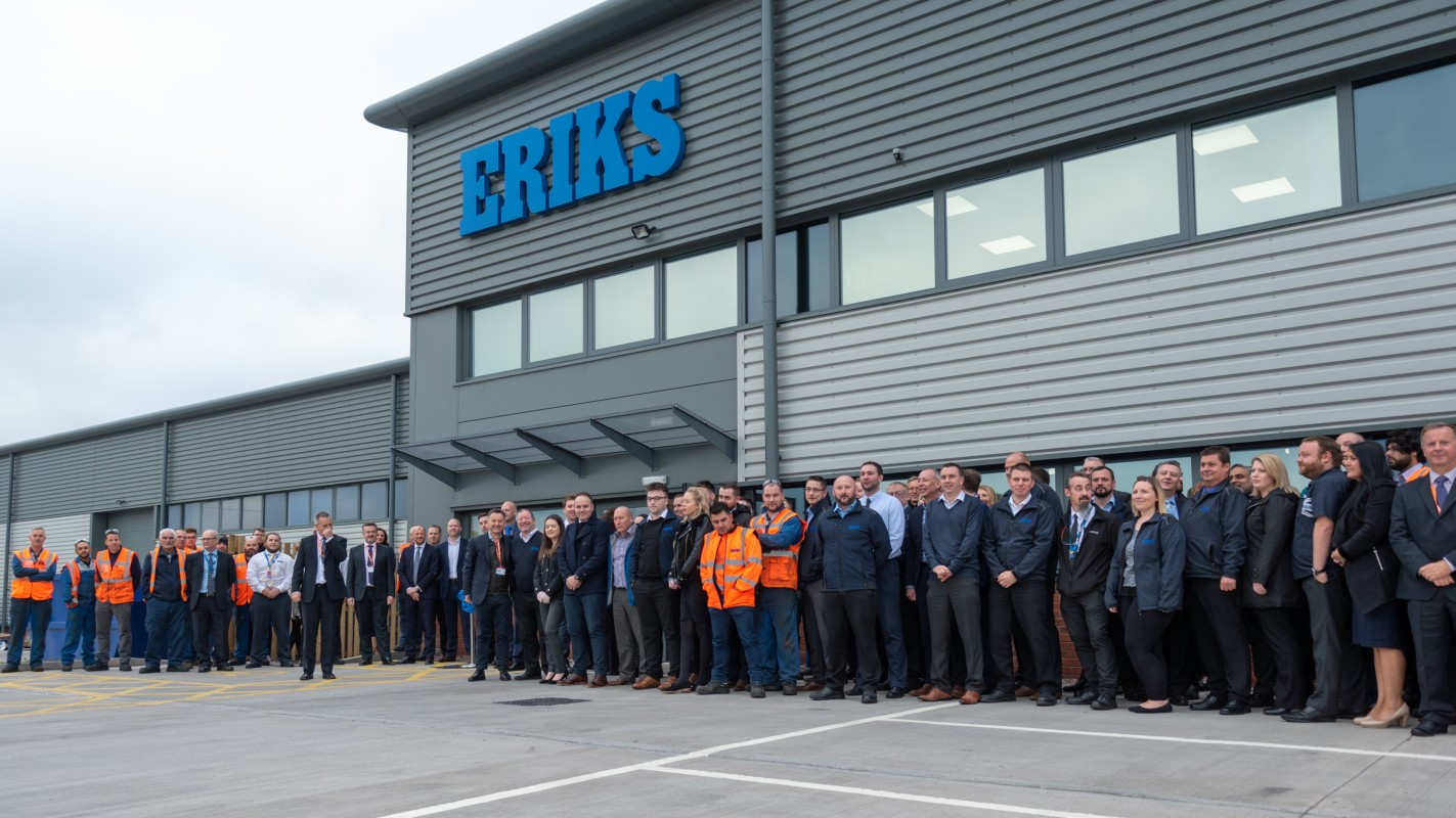 New Image for ERIKS OFFICIALLY OPENS EUROPEAN CENTRE OF EXPERTISE AT PRIME POINT