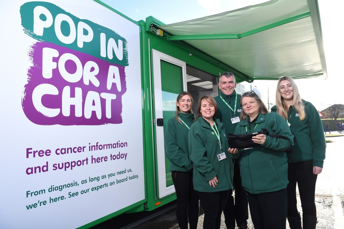 New Image for MACMILLAN CANCER SUPPORT TO HEAD TO MACCLESFIELD