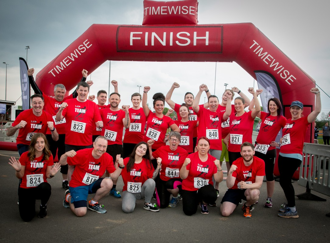 New Image for HUNDREDS OF RUNNERS TURN OUT FOR THE LCP 10K