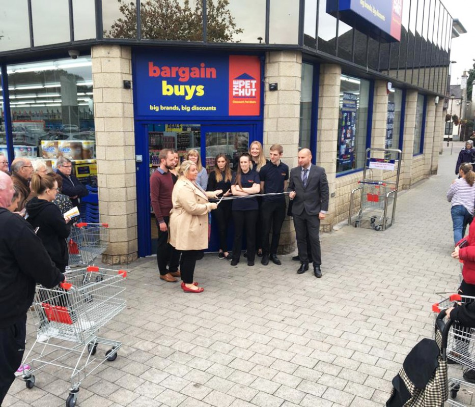 New Image for BARGAIN BUYS OPENS ITS DOORS IN PENICUIK