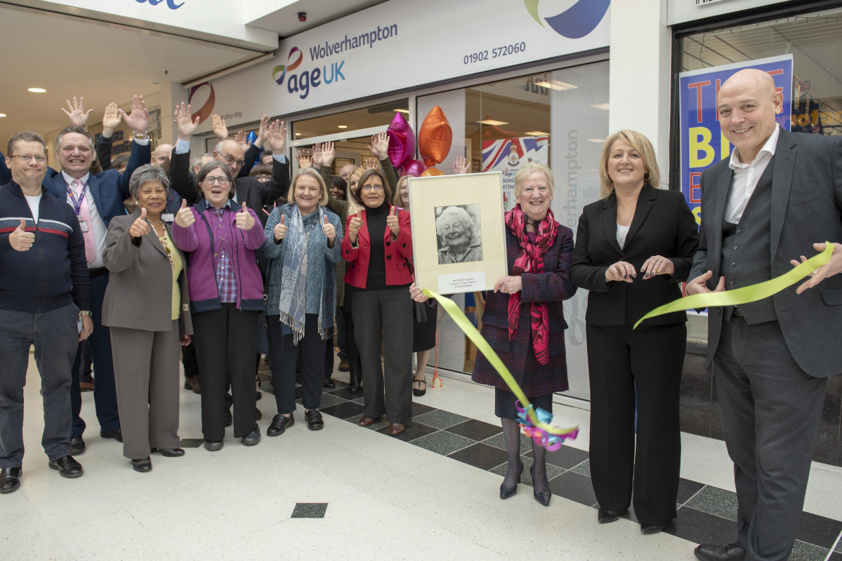 New Image for AGE UK MOVES TO THE WULFRUN CENTRE