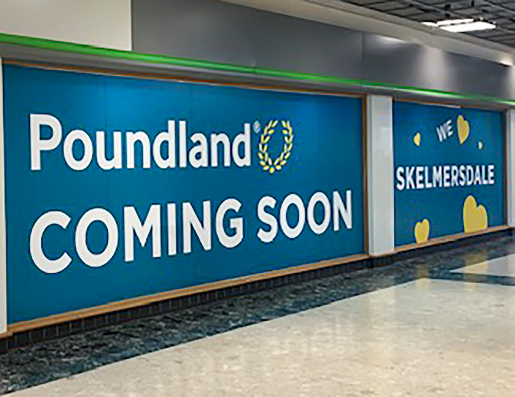 New Image for BIGGER AND BETTER POUNDLAND AT THE CONCOURSE SHOPPING CENTRE