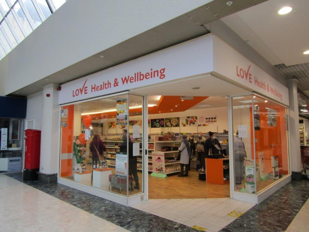 New Image for HEALTH AND WELLBEING SHOP OPENS AT THE CONCOURSE SHOPPING CENTRE