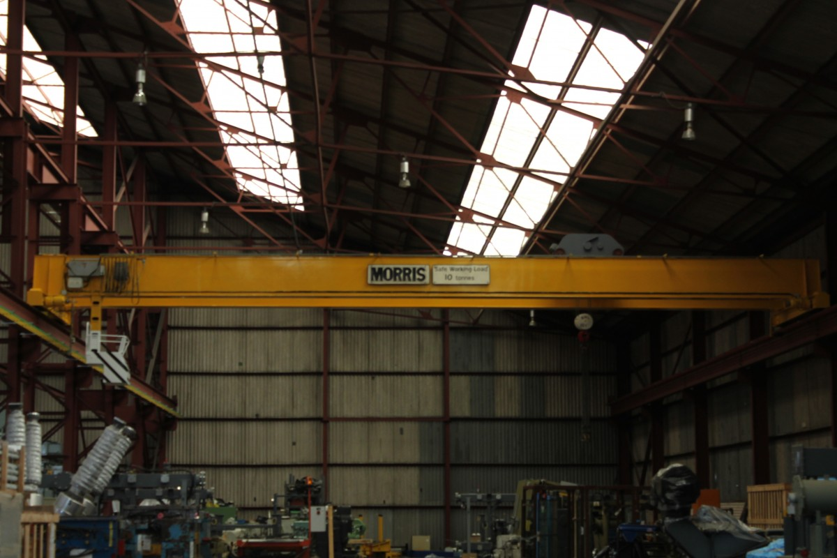 Image 1 of 10 TONNE CRANE STORAGE FACILITY