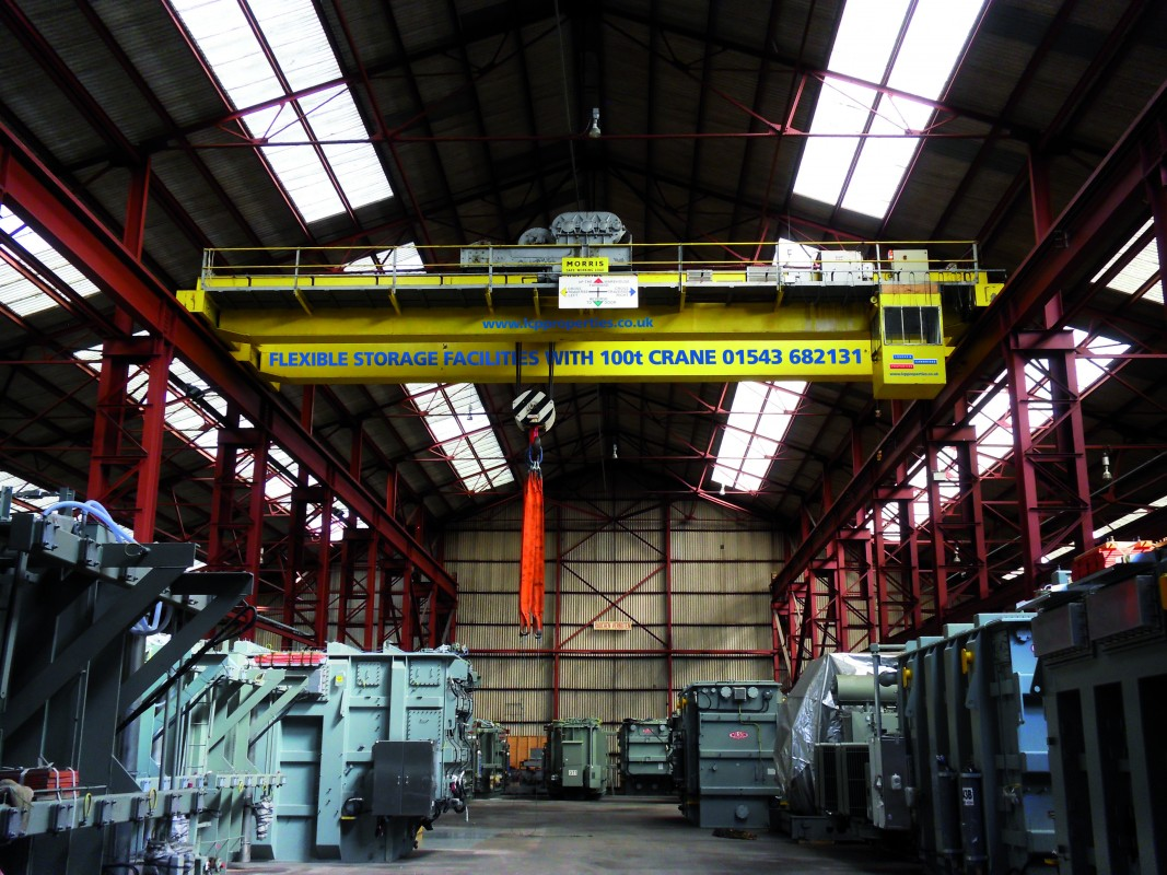 Image 1 of 100 TONNE CRANE STORAGE FACILITY
